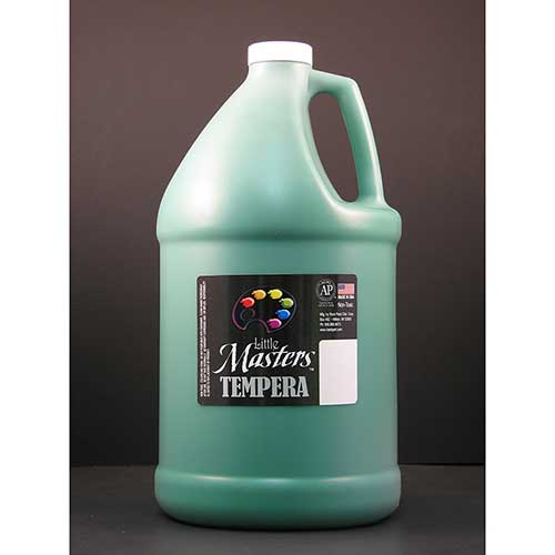 LITTLE MASTERS GREEN 128OZ TEMPERA