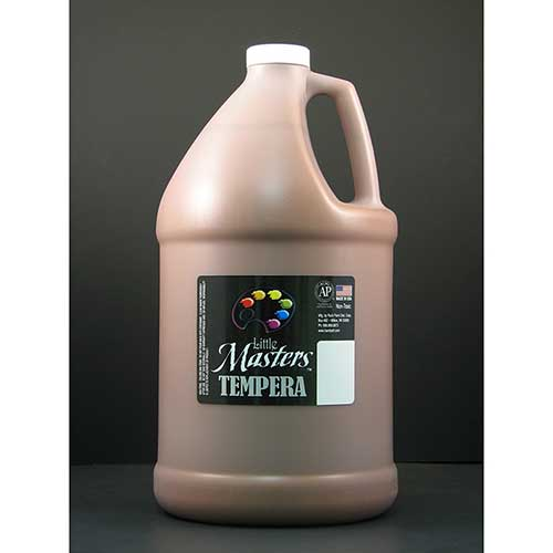LITTLE MASTERS BROWN 128OZ TEMPERA