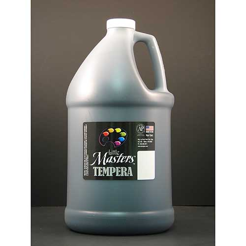 LITTLE MASTERS BLACK 128OZ TEMPERA