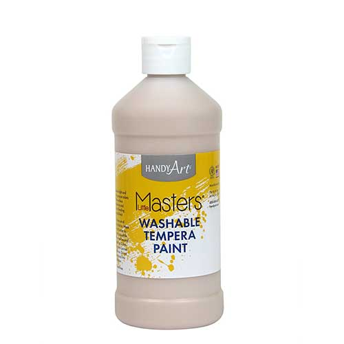 LITTLE MASTERS PEACH 16OZ WASHABLE