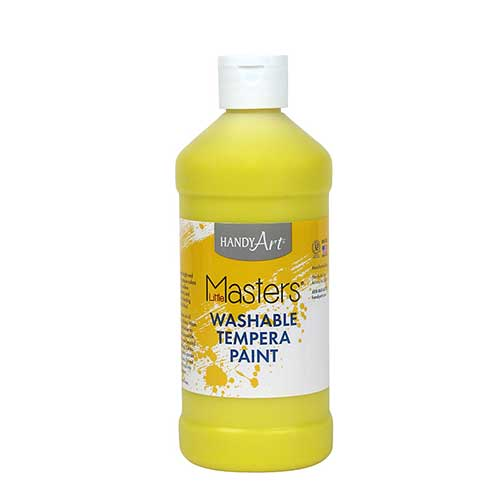LITTLE MASTERS YELLOW 16OZ WASHABLE