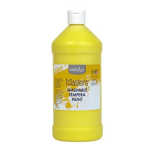 LITTLE MASTERS YELLOW 32OZ WASHABLE