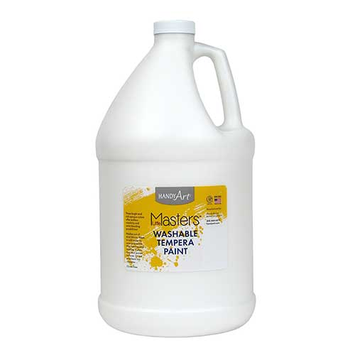 LITTLE MASTERS WHITE 128OZ WASHABLE