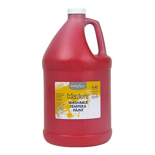 LITTLE MASTERS RED 128OZ WASHABLE