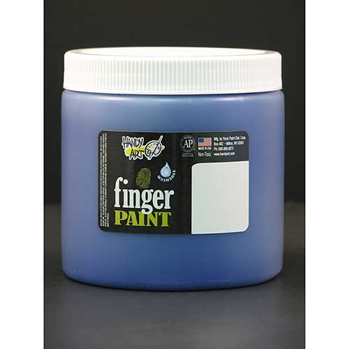 HANDY ART BLUE 16OZ WASHABLE FINGER
