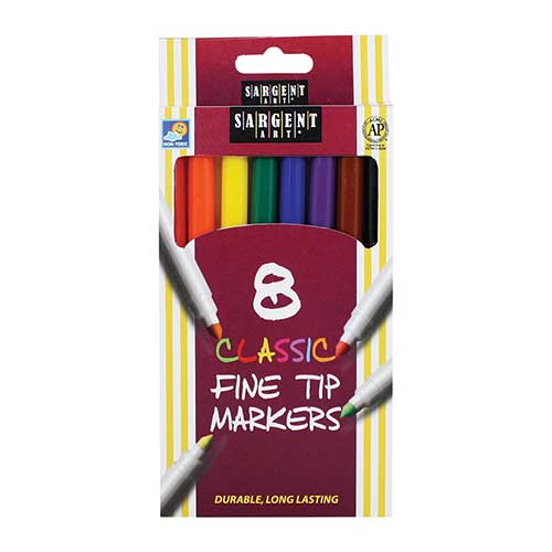 SARGENT ART CLASSIC MARKERS FINE