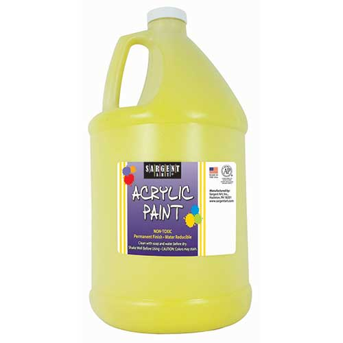 64OZ ACRYLIC - YELLOW