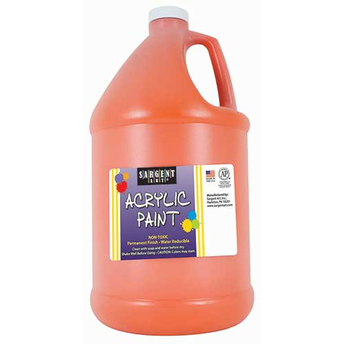 64OZ ACRYLIC - ORANGE