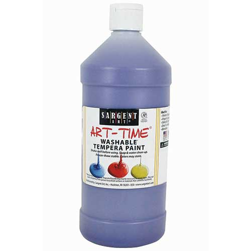 VIOLET WASHABLE TEMPERA PAINT 32OZ