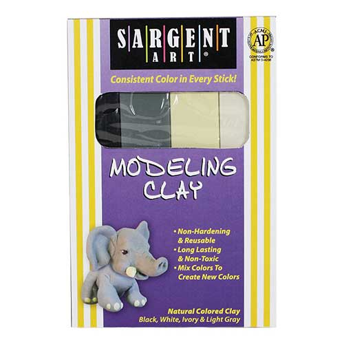 SARGENT ART MODELING CLAY NATURAL