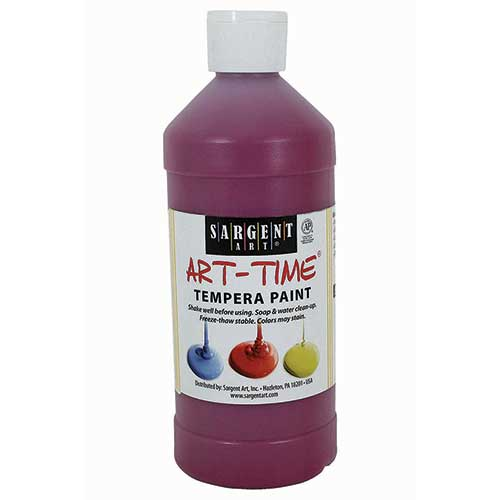 MAGENTA TEMPERA PAINT 16OZ
