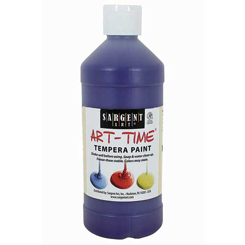 VIOLET TEMPERA PAINT 16OZ