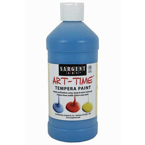 TURQUIOSE TEMPERA PAINT 16OZ