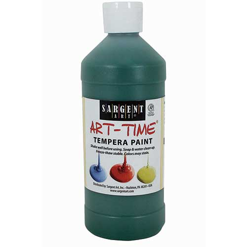 GREEN TEMPERA PAINT 16OZ