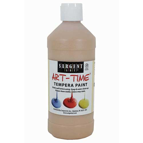 PEACH TEMPERA PAINT 16OZ