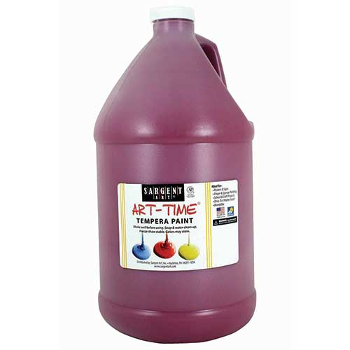 MAGENTA TEMPERA PAINT GALLON