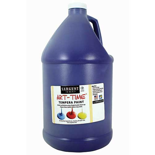 VIOLET TEMPERA PAINT GALLON