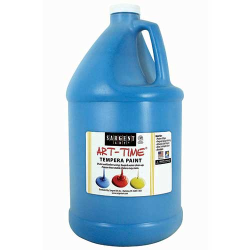 TURQUOISE TEMPERA PAINT GALLON