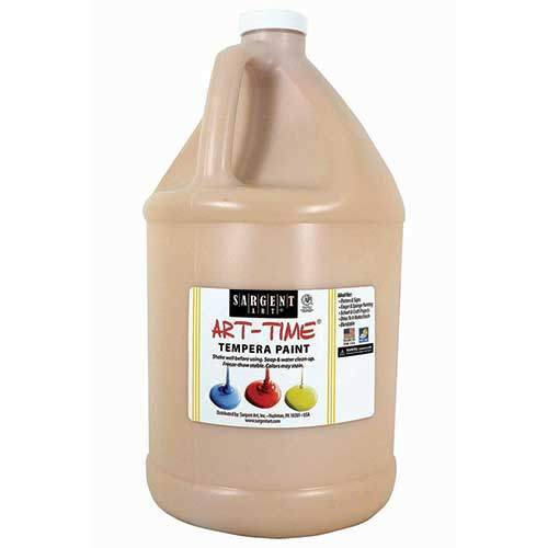 PEACH TEMPERA PAINT GALLON