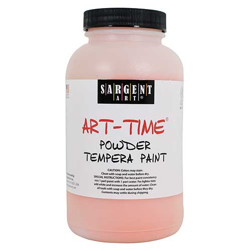 ORANGE POWDER TEMPERA PAINT 1LB