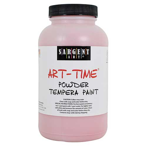 RED POWDER TEMPERA PAINT 1LB