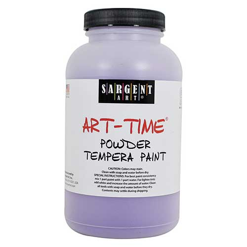 VIOLET POWDER TEMPERA PAINT 1LB