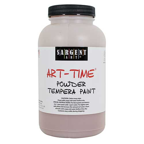 BROWN POWDER TEMPERA PAINT 1LB