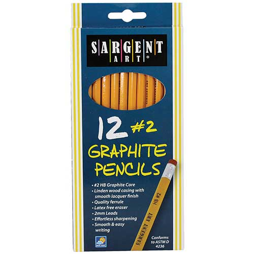 12CT HB GRAPHITE PENCILS