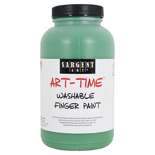 16OZ WASHABLE FINGER PAINT GREEN