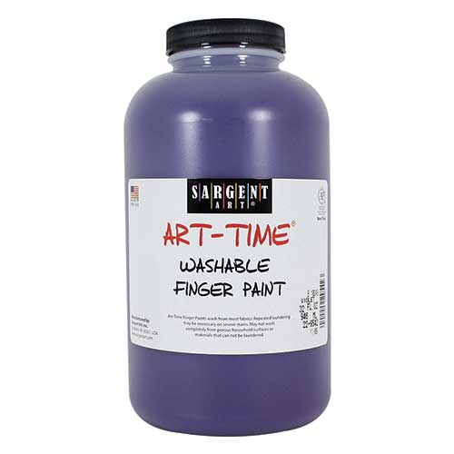 32OZ WASHABLE FINGER PAINT VIOLET