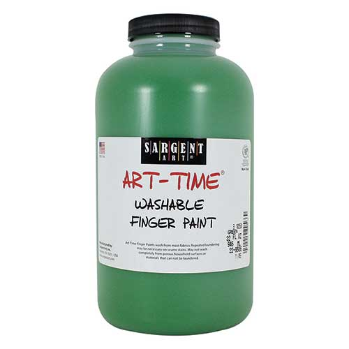 32OZ WASHABLE FINGER PAINT GREEN