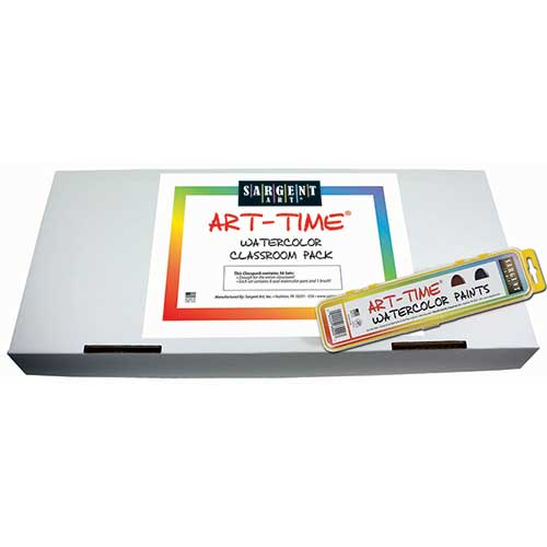 36CT ART TIME WATERCOLOR CLASSPACK