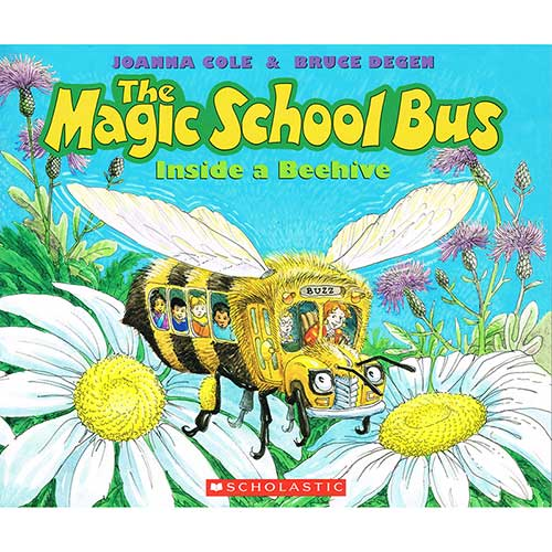 MAGIC SCHOOL BUS INSIDE A BEEHIVE