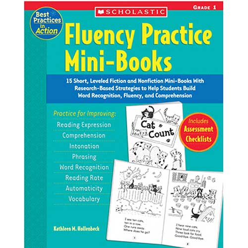 BOOK FLUENCY PRACTICE MINI-BOOKS