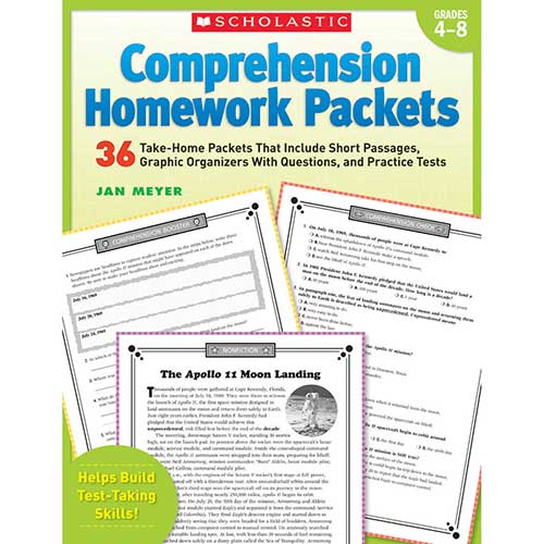 COMPREHENSION HOMEWORK PACKETS