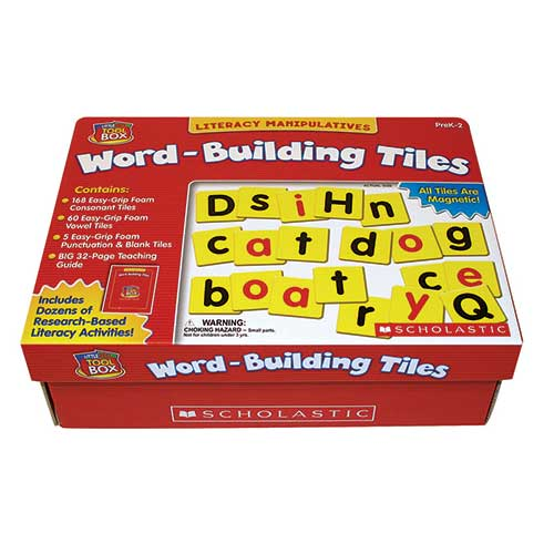 LETTLE RED TOOL BOX WORD BUILDING