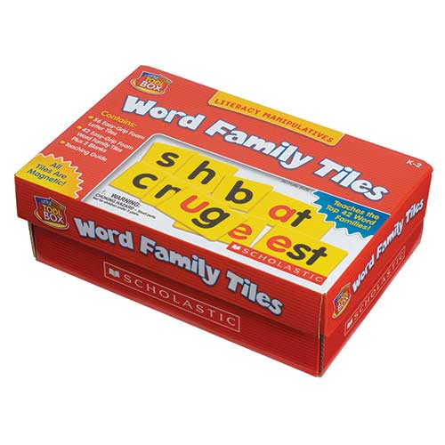 LITTLE RED TOOLBOX WORD FAMILY