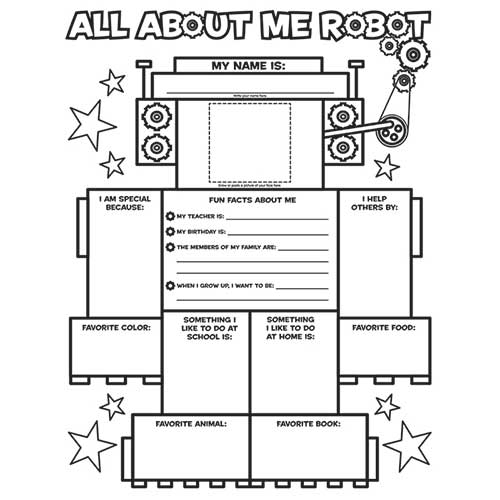 ALL ABOUT ME ROBOT GRAPHIC