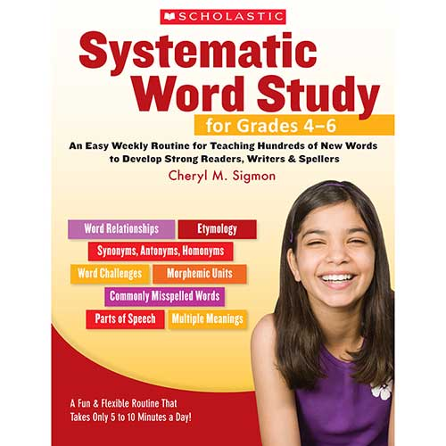SYSTEMATIC WORD STUDY FOR GR 4-6