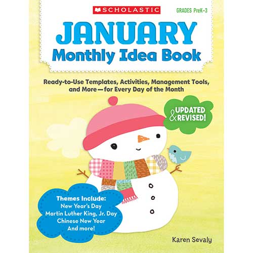 JANUARY MONTHLY IDEA BOOK
