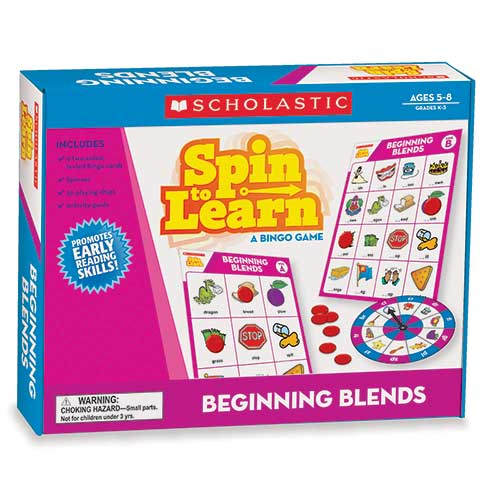 SPIN TO LEARN BEGINNING BLENDS GAME