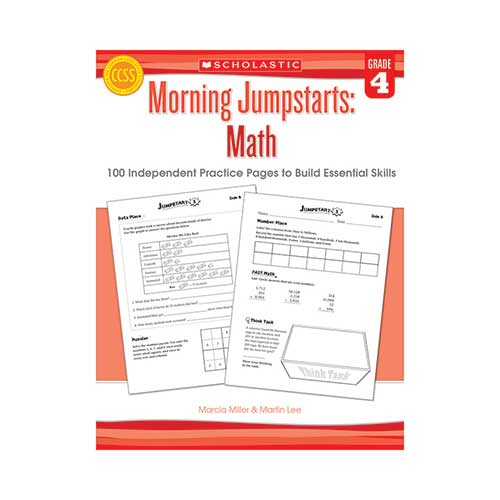 MORNING JUMPSTARTS MATH GR 4