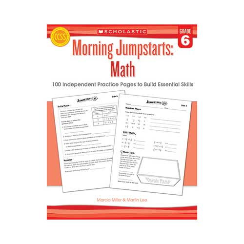 MORNING JUMPSTARTS MATH GR 6