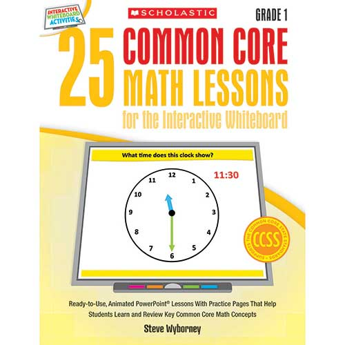 25 COMMON CORE GR 1 MATH LESSONS