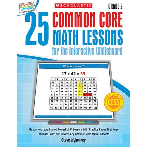 25 COMMON CORE GR 2 MATH LESSONS