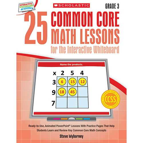 25 COMMON CORE GR 3 MATH LESSONS