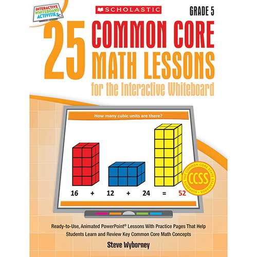 25 COMMON CORE GR 5 MATH LESSONS