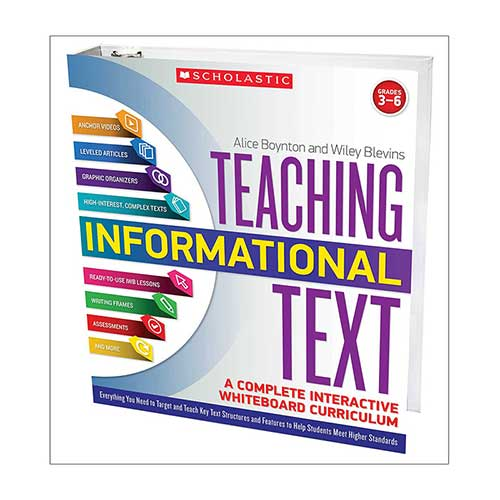 TEACHING INFORMATIONAL TEXT A