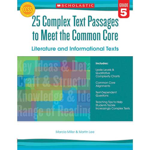 GR 5 25 COMPLEX TEXT PASSAGES TO