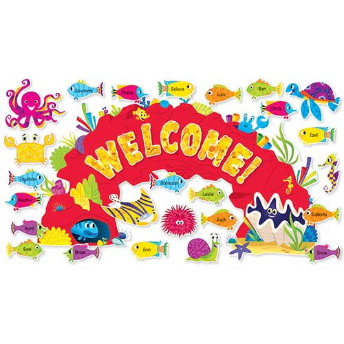 OCEAN WELCOME BULLETIN BOARD